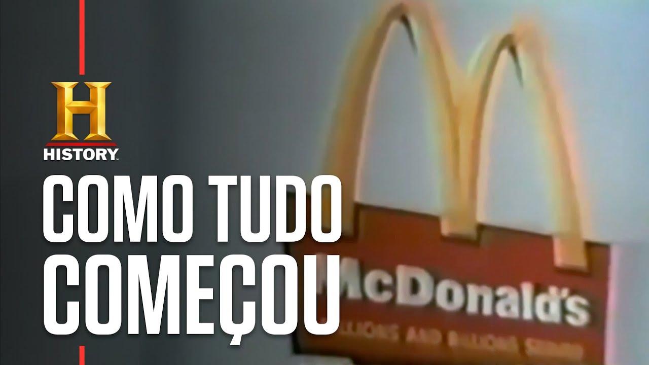 A brilhante ideia que deu origem ao McDonald's | GIGANTES DOS ALIMENTOS | HISTORY