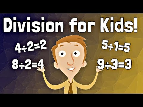 Division for Kids   Basic Math Learning Video