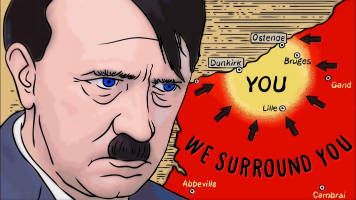 Dunkirk from the German Perspective   Animated History