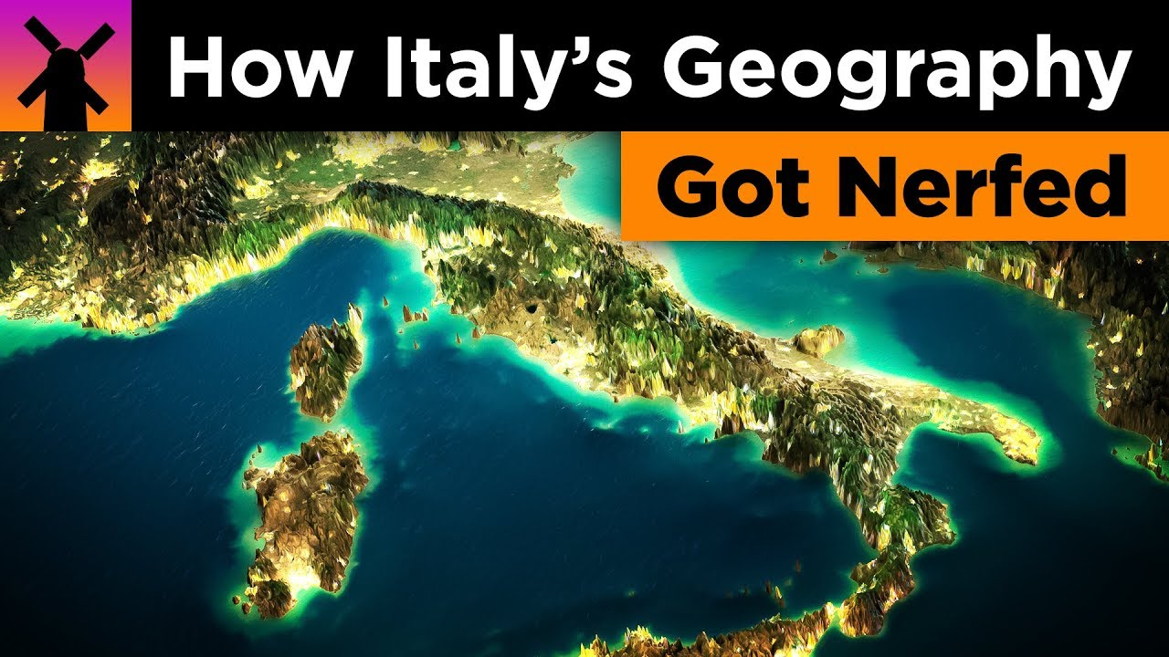 How Italy's Geography got Badly Nerfed