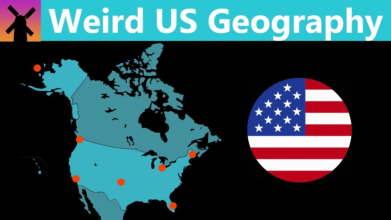 How the Geography of the US is Weirder Than You Think