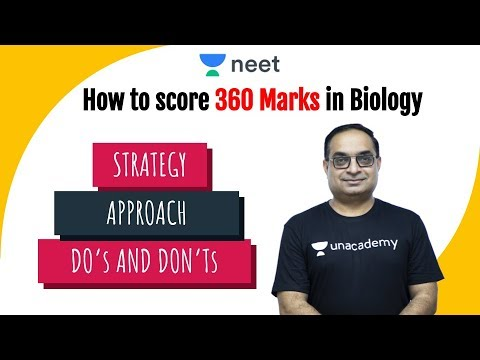 How to Score 360 Marks In Biology | How to Study Biology | NEET 2020 Preparation | Sachin Sir