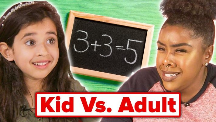 Kids Vs. Adult: Elementary Math