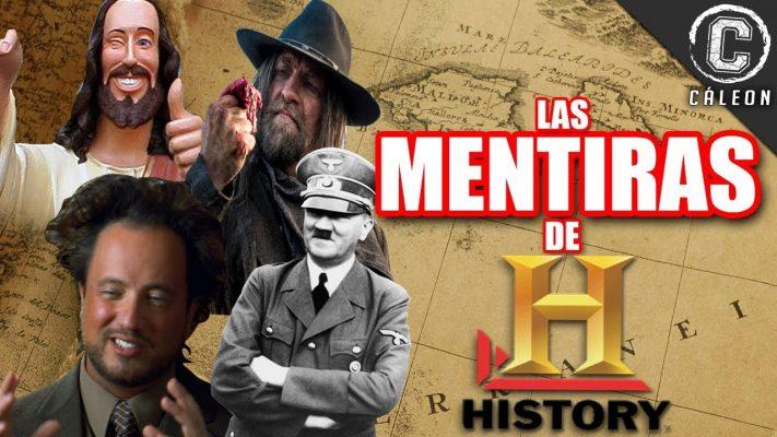 LAS MENTIRAS Y FRAUDES DE HISTORY CHANNEL   Yoshimitsu Cáleon