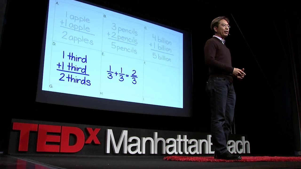 Math isn't hard, it's a language | Randy Palisoc | TEDxManhattanBeach