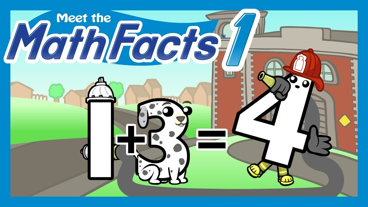 Meet the Math Facts - Addition & Subtraction Level 1 (FREE)   Preschool Prep Company