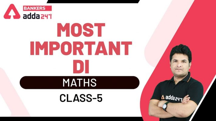Most Important D.I (Data Interpretation) Questions | Maths for SBI Clerk 2020 Mains (Class-5)