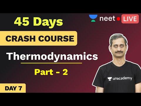 NEET 2020: 45 Days Crash Course in Chemistry   Day 7   Thermodynamics   Unacademy NEET   Anoop Sir
