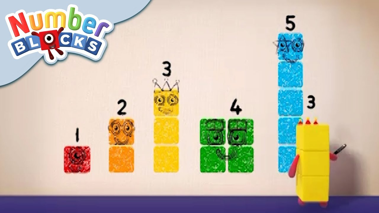 Numberblocks - Colourful Math | Learn to Count