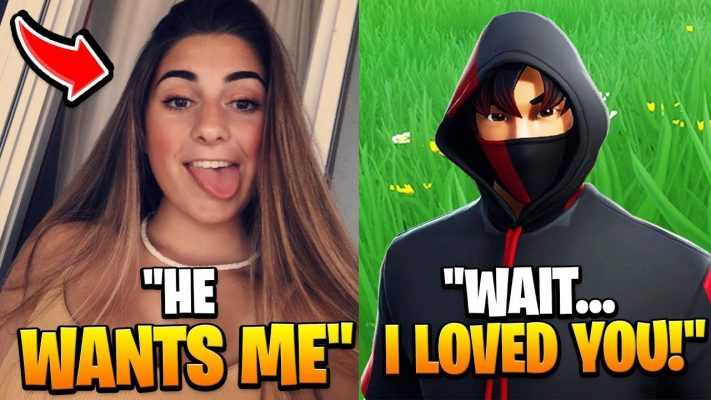 RICH KID Tried To DATE My CRUSH, So I Did This... (Fortnite)