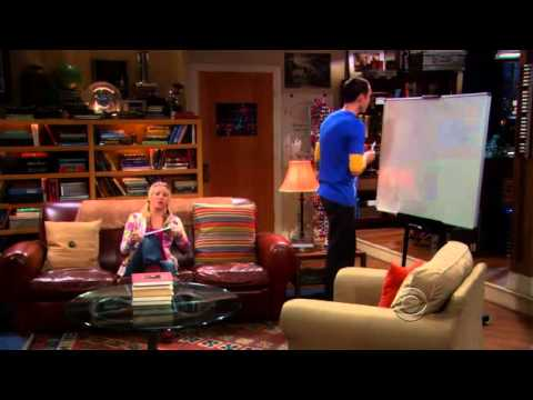 "Sheldon tries to teach Penny a ""little"" physics"
