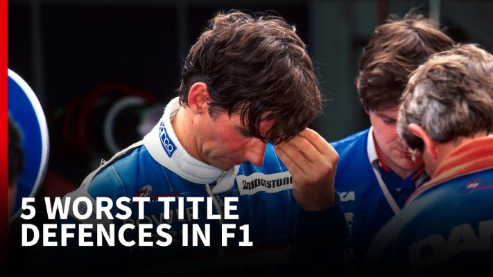 The 5 worst title defences in F1 history
