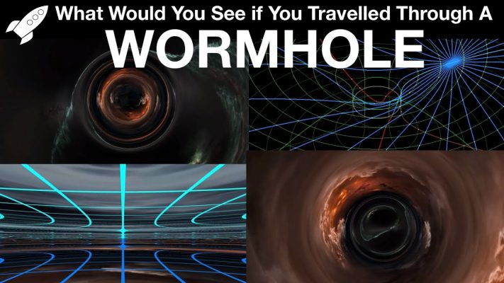 What Wormholes Would Actually Look Like According To Physics (VR/360)
