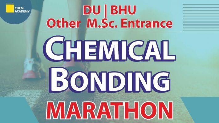 Chemical Bonding  | DU | BHU | MSc Entrance | Chem Academy