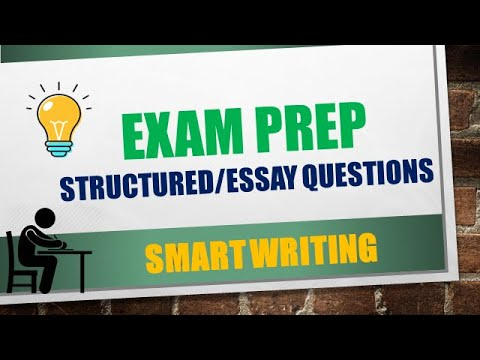 EXAM PREP (Part 2): Structured and Essay Questions| CSEC Biology and HSB|CXC Biology Tutor