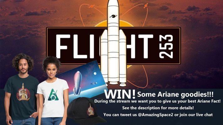 Launch: Ariane 5 VA253: (Win Some Ariane Goodies )