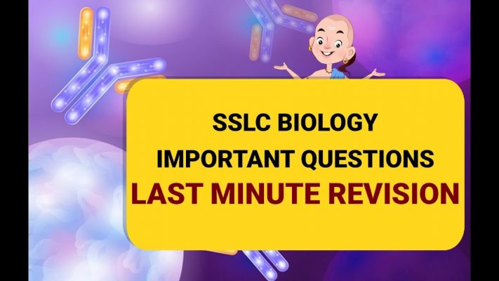 SSLC Biology - All important questions for last minute revision.| Study at chanakya.