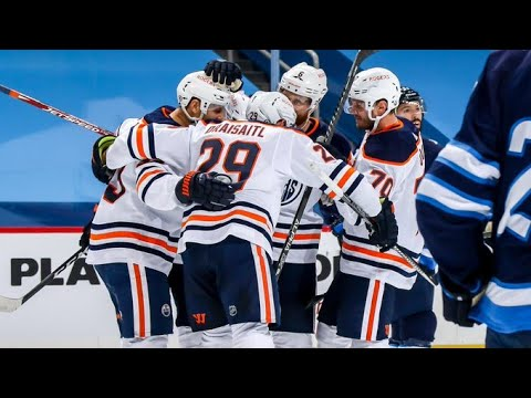 """The Cult of Hockey's """"Chemistry on Oilers top lines leads to explosive win over Jets"""" podcast"""
