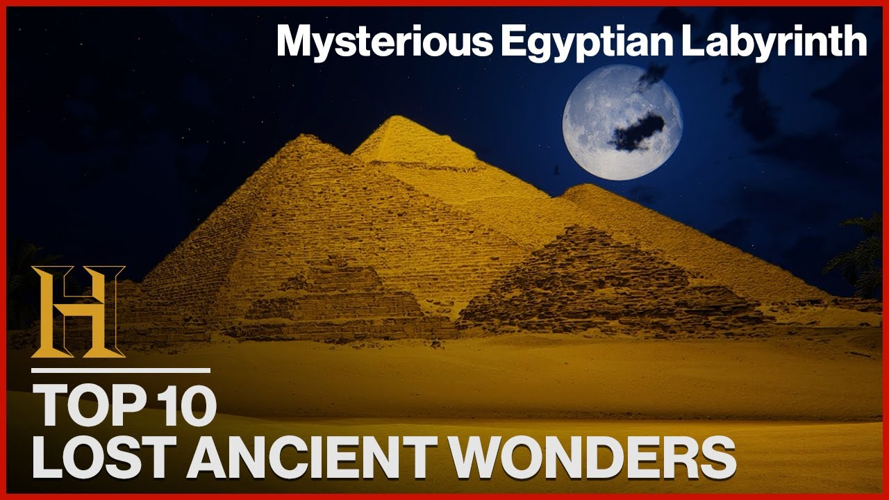 10 LOST WONDERS OF THE ANCIENT WORLD   History Countdown