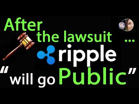 After Lawsuit Ripple will go public according the Yoshitaka Kitao Ripple largest outside shareholder