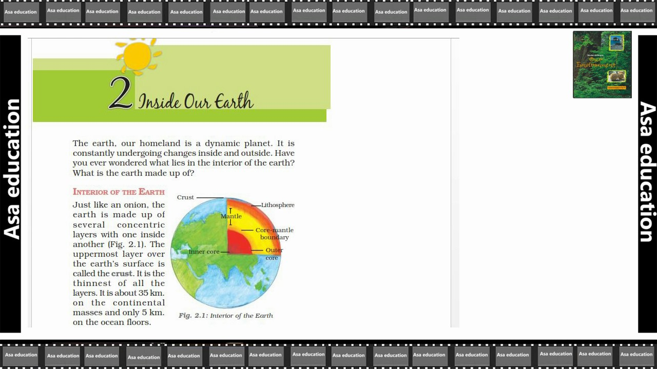 Ch 2.1  Inside Our Earth (Geography, Grade 7, CBSE) Easy Hindi Explanation