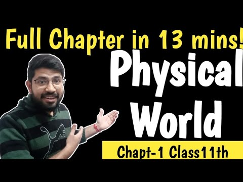 Chapter1 Class11th Physics    Physical World    Physics Chapter1 Class11th