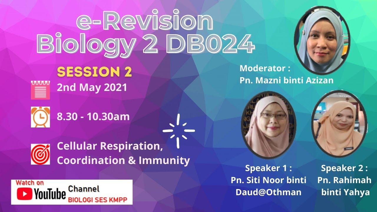 e_Revision Biology 2 DB024 (Session 2)