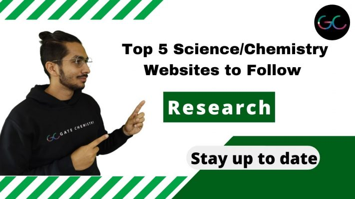 Five Science/Chemistry Websites to Follow for Latest Research Updates