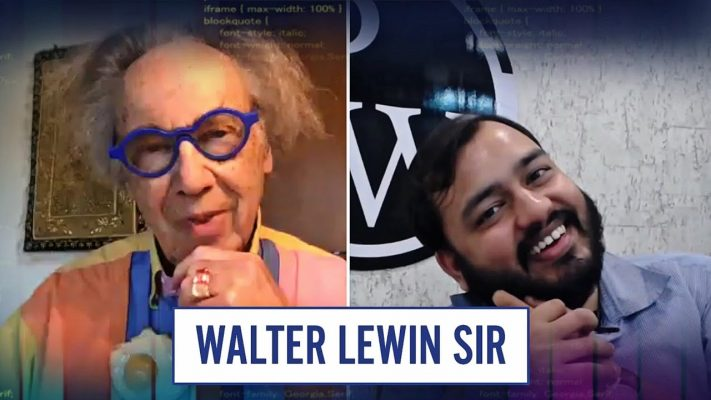 For The Love of Physics - Walter Lewin Sir || SURPRISE OF HALF DECADE