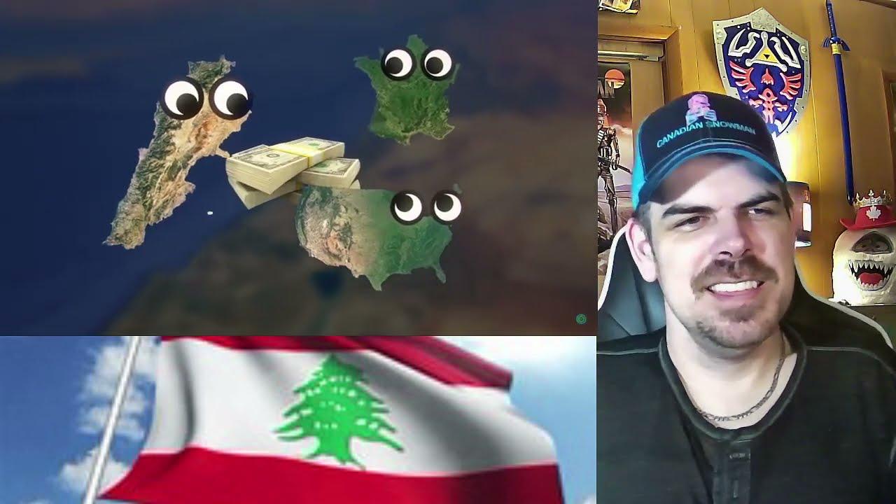 Geography Now! LEBANON REACTION