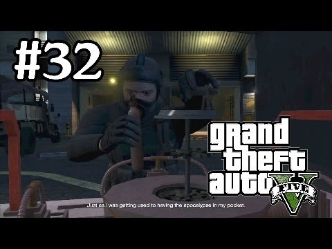 Grand Theft Auto 5 Walkthrough Part 32 - Chemical Weapons Heist - Grand Theft Auto V Gameplay