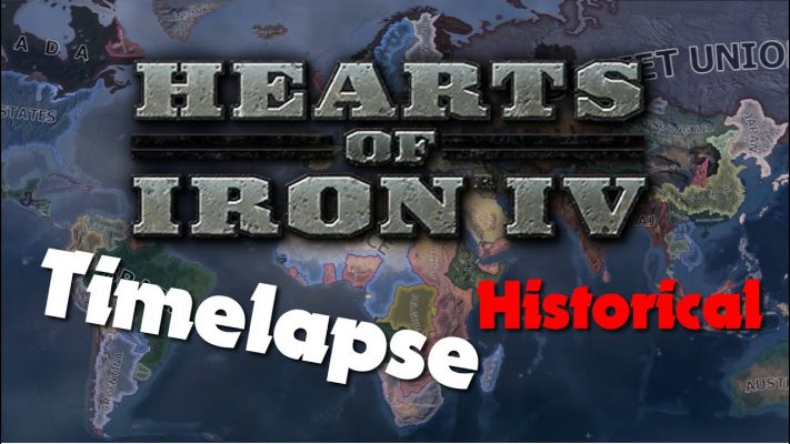 Hearts of Iron IV - Historical Focus Timelapse #1