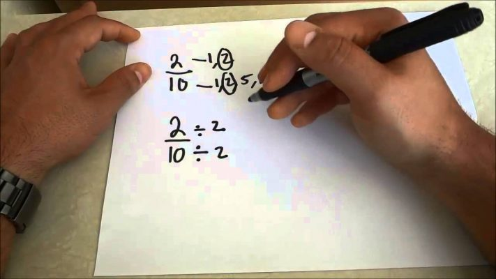 How To Reduce Fractions To Lowest Terms-Step By Step Math Lesson