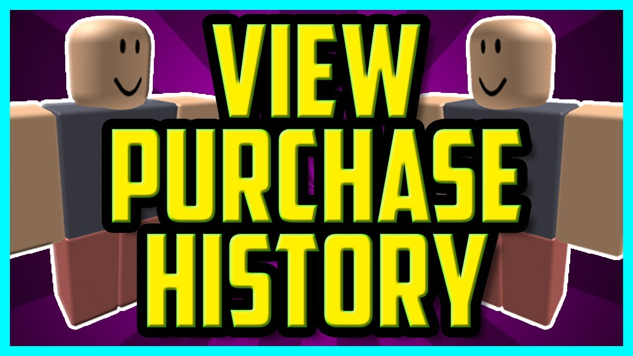 How To View Purchase History In Roblox 2018 (EASY) - How To See What You Bought In Roblox