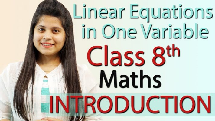 Introduction - Linear Equations in One Variable - Chapter 2 - NCERT Class 8th Maths
