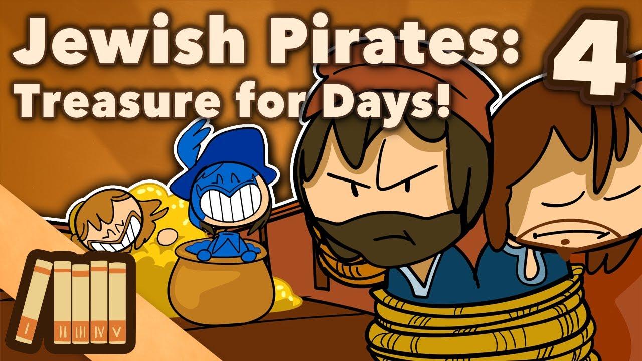 Jewish Pirates - Treasure for Days! & The New World - Extra History - #4