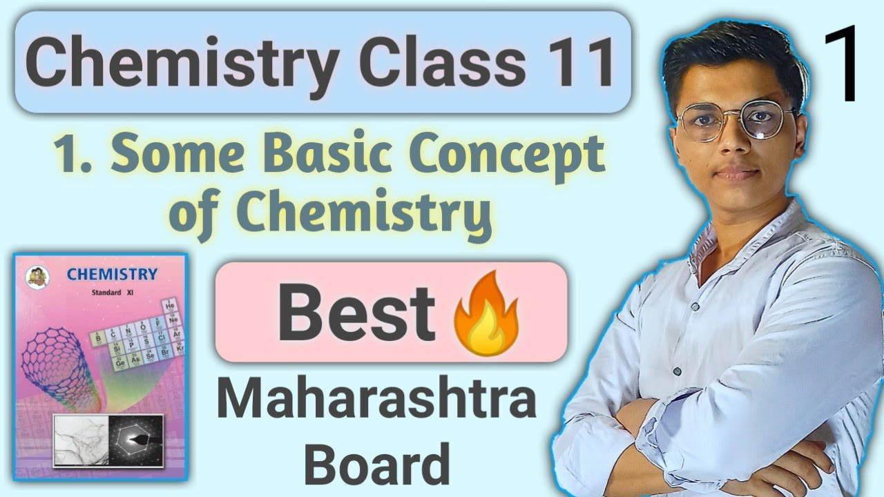Lecture 1    chapter 1 Some basic concept of chemistry class 11 chemistry maharashtra board    #nie
