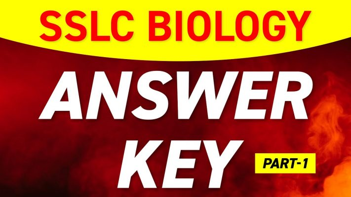 SSLC Biology Exam 2021 | Answer Key Part 1 | Archana Miss | Exam Winner Learning App