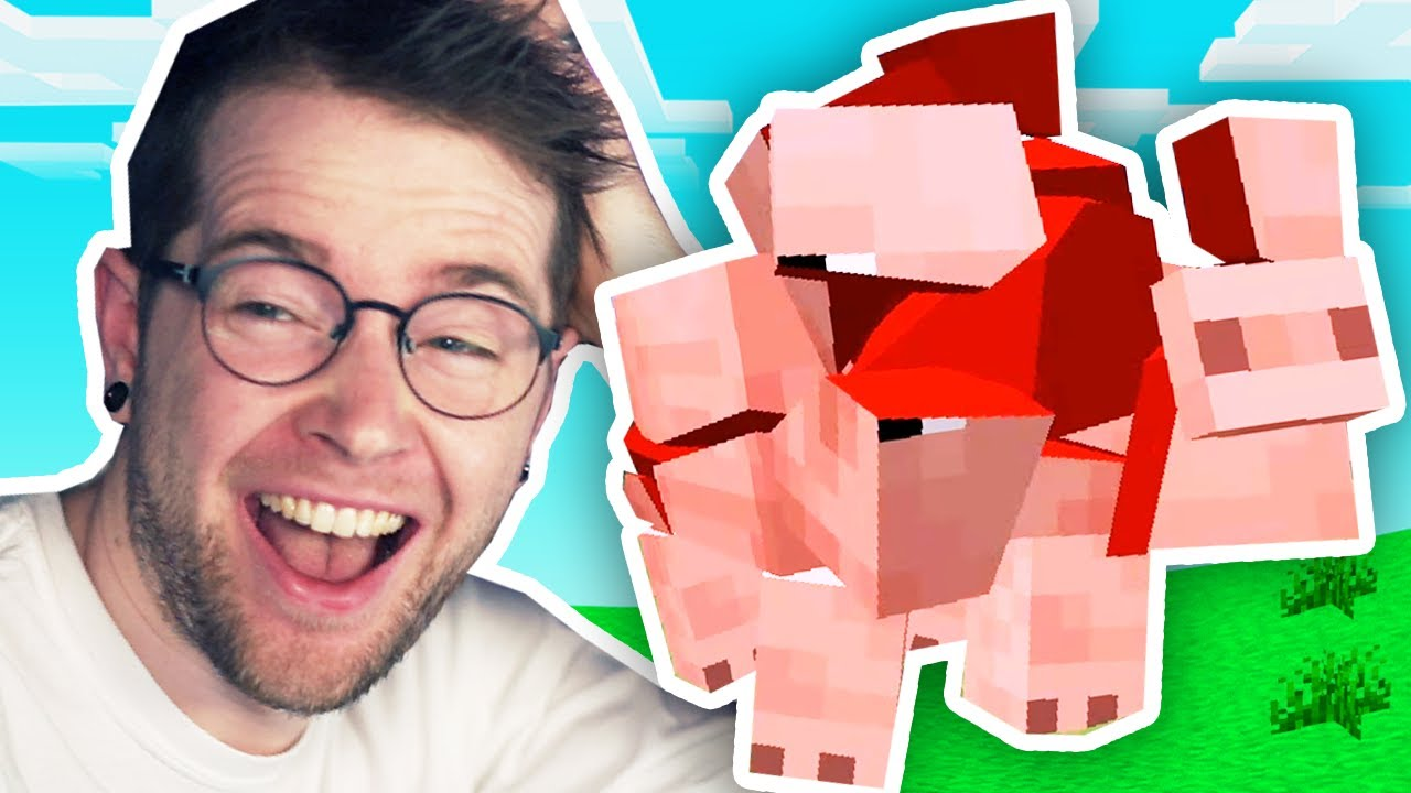 The Minecraft Physics Mod is Hilarious!