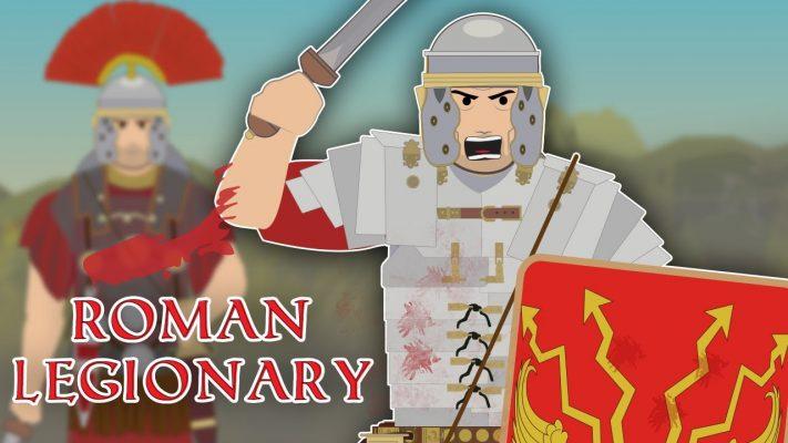 The Roman Legionaries (Elite Heavy Infantryman)